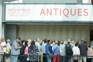 Birmingham NEC, Birmingham, UK. 19th July 2018. The antiques event held three times a year at the NEC. The opening day is today, and runs until Sunday.