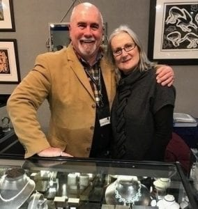 In Conversation with … Sue & Alan Poultney of Scarab Antiques